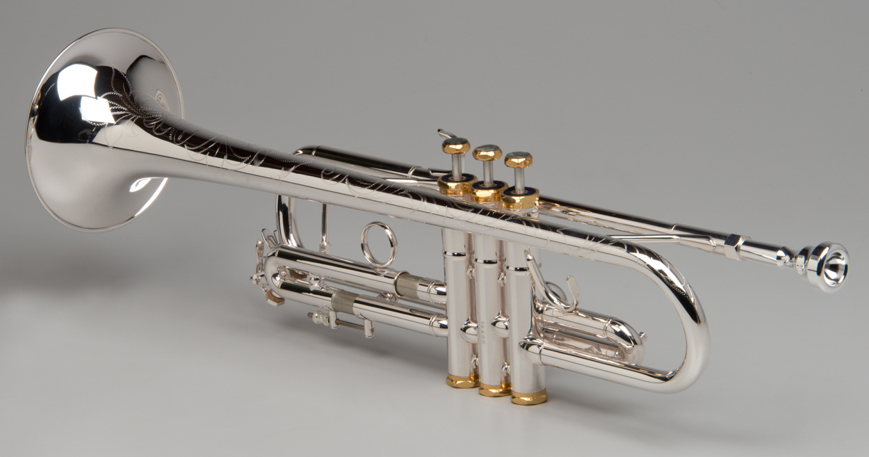 Apollo Trumpet - Silver - 3 - Tempest Musical Instruments