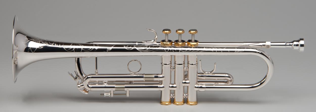 Apollo Trumpet - Silver - 4 - Tempest Musical Instruments