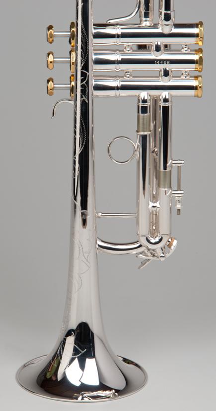 Apollo Trumpet - Silver - 5 - Tempest Musical Instruments