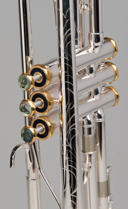 Apollo Trumpet - Silver - 6 - Tempest Musical Instruments