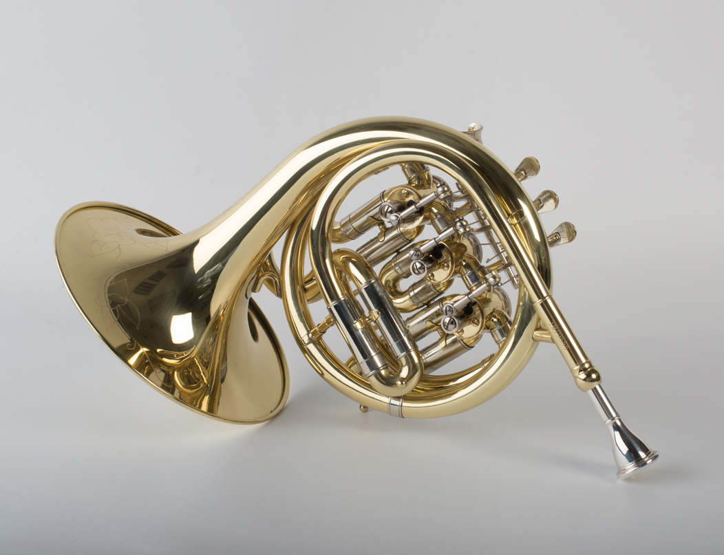 Mini French Horn 3 Valve - 1 - Tempest Musical Instruments