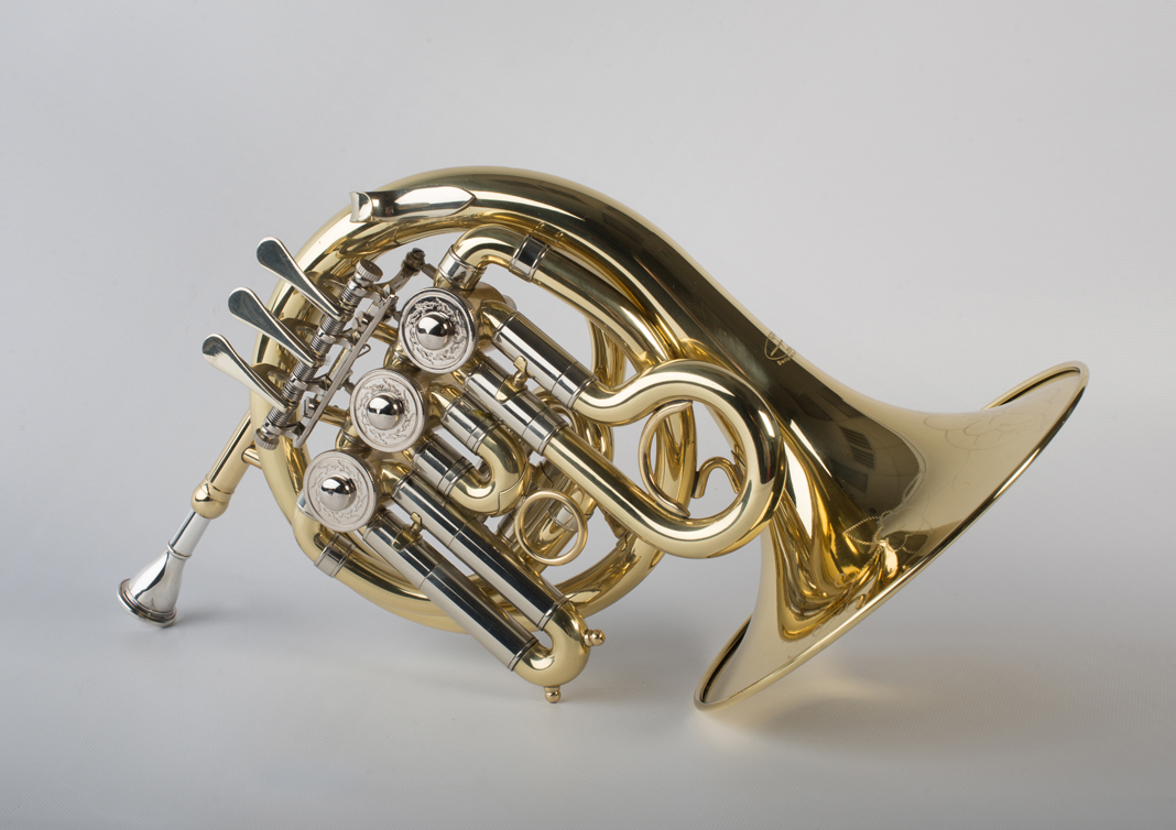 Mini French Horn 3 Valve - 2 - Tempest Musical Instruments