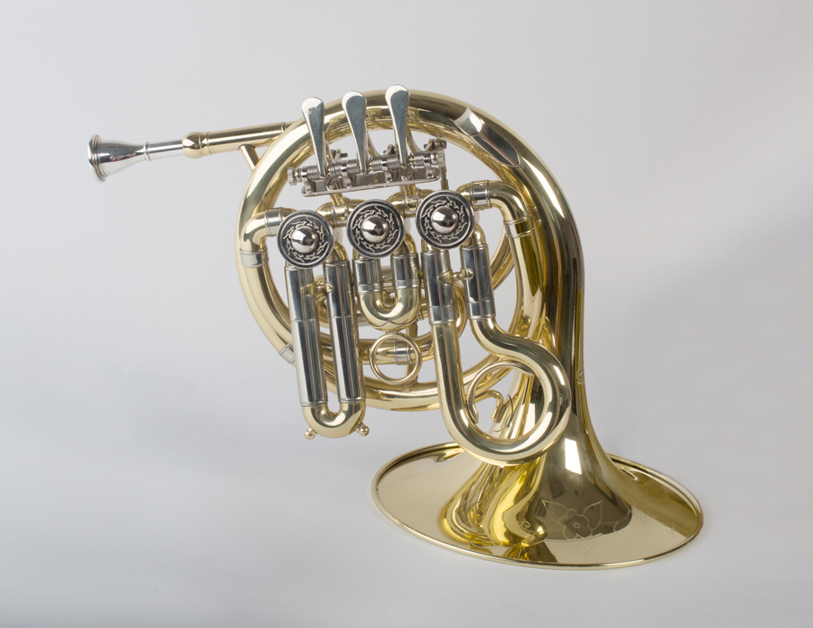 Mini French Horn 3 Valve - 5 - Tempest Musical Instruments