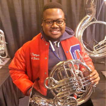 Jeremy Thompson of Clarksdale High School - Tempest Musical Instruments