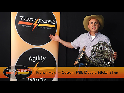Double Nickle French Horn