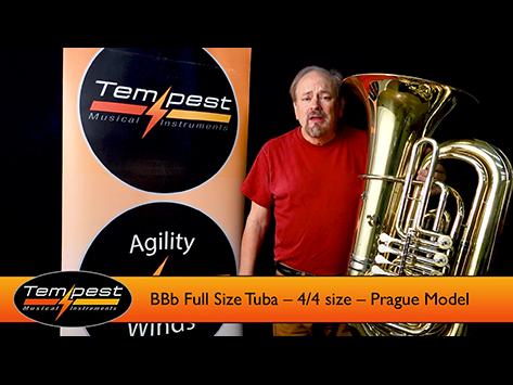 Prague Tuba – Full Sized