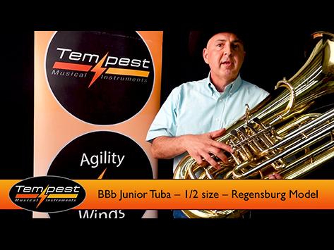 Half Size Tuba
