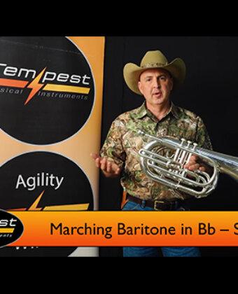 Marching Baritone – Silver