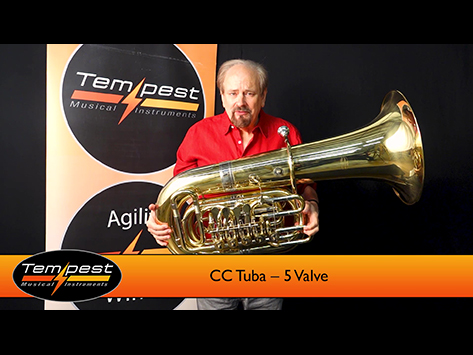 5 Valve CC Tuba