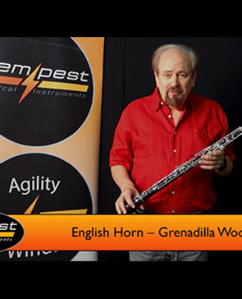 English Horn – Grenadilla Wood
