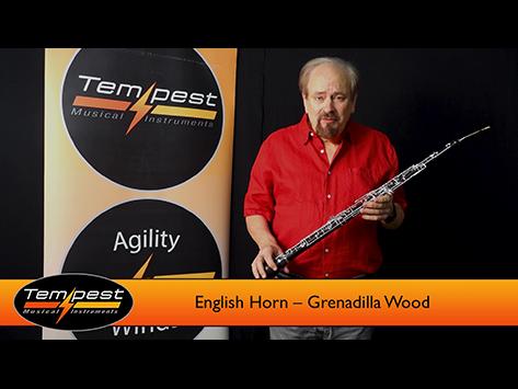 English Horn – Grenadilla Wood